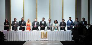 Corte de listón ceremonia inaugural edición 61 de Intermoda